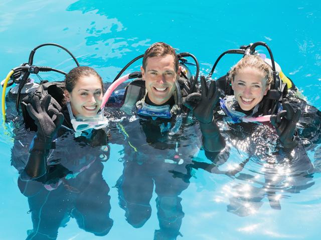 diving school croatia, schnuppertauchen