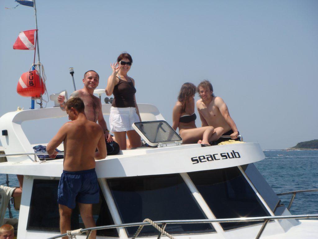 immersioni Croazia, il centro sub Croazia