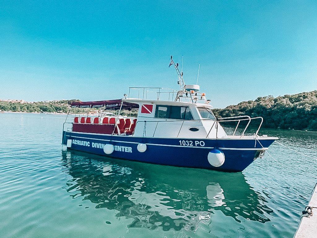 diving boat, tauchboot, lodz nurkowa, nurkowanie chorwacja