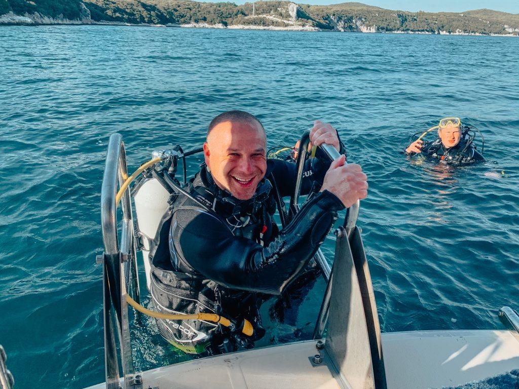 diving center vrsar, diving center funtana, diving istra